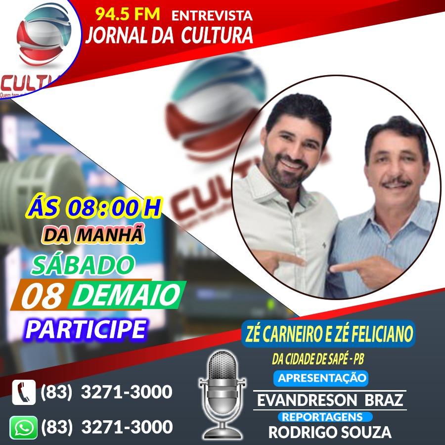 Ex Secretário de Agricultura concederá entrevista a rádio Cultura neste Sábado (08)