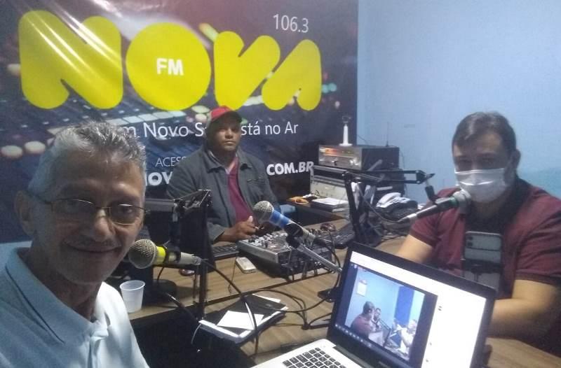 Durante programa de rádio Flavinho Feliciano taxa gestão de Sapé de ruim e desastrosa e chama prefeito de mentiroso
