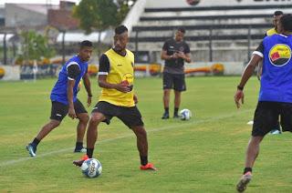 Botafogo-PB confirma reinício de treinos para a próxima segunda-feira