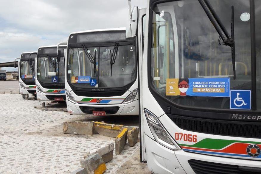 Passageiro sem máscara será proibido de embarcar em ônibus urbanos de João Pessoa