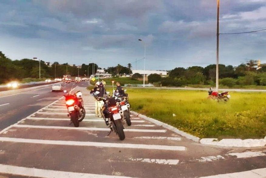 Foragido da justiça é preso pela PRF na Paraíba após se envolver em acidente de trânsito