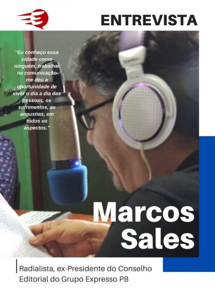 Marcos Sales pode disputar vaga na Câmara de Mari, revela radialista em entrevista à revista