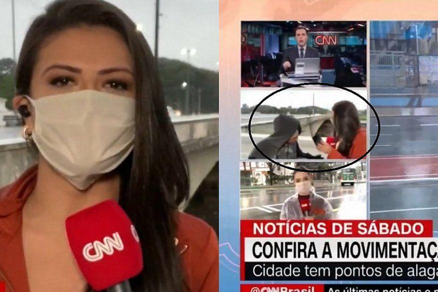 Polícia prende suspeito de assaltar repórter da CNN Brasil ao vivo