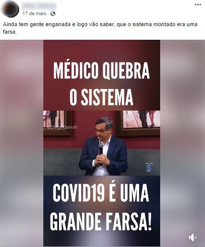 Pastor que criticava isolamento social morre vítima de Covid-19